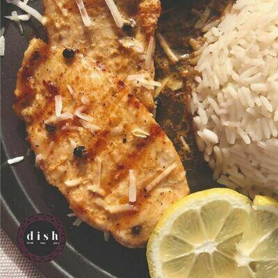 Lemon and pepper Chicken صدور الفراخ بتتبيله الليمون والفلفل