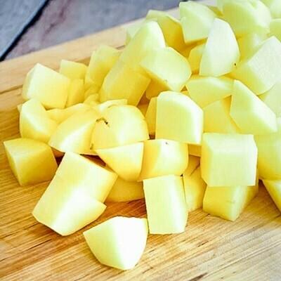Potato Cubes (400g) بطاطس مكعبات