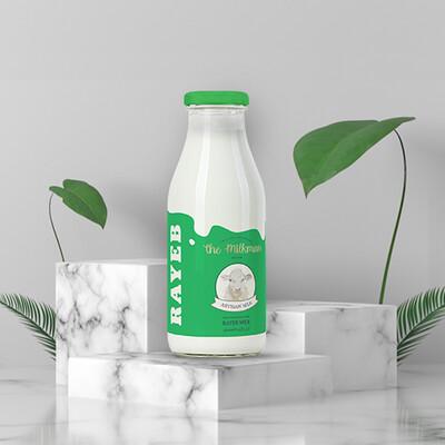 Fresh Milk Rayeb (270ml) حليب رايب طازجة