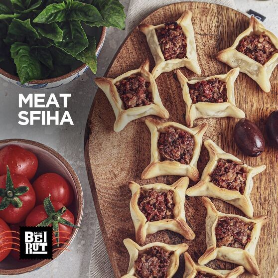 Mini Meat Sfeha (8) صفيحة لحمة