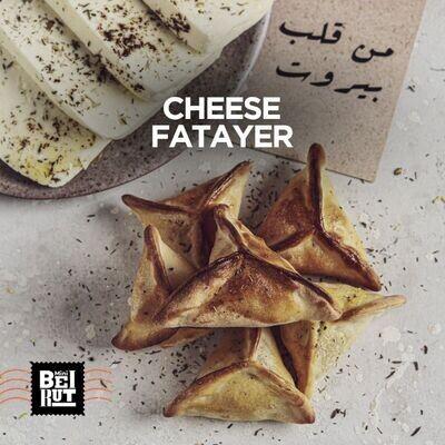 Mini Cheese Fatayer (8) فطاير جبنة
