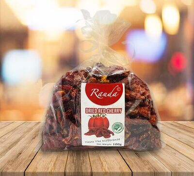 Dried Red Cherry Tomatoes (100g) طماطم شيري مجفف احمر