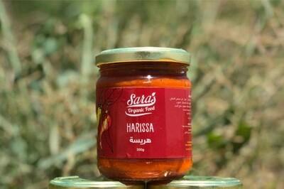 Sara's Organic Harissa (200g) ساره هريسة شطه اورجانيك
