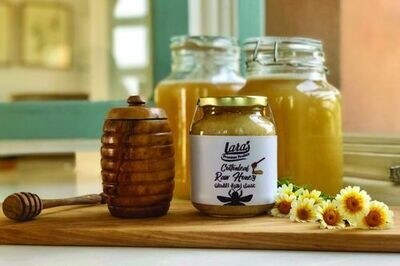 Lara's Premium Raw Cottonleaf Honey (500g) لارا عسل قطن الخام بريميم