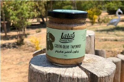 Lara's Premium Green Olive Tapenade (180g) لارا مفروم زيتون اخضر بريميم