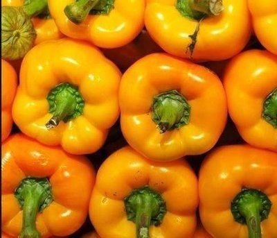 Yellow bell peppers (1kg ) فلفل رومي اصفر