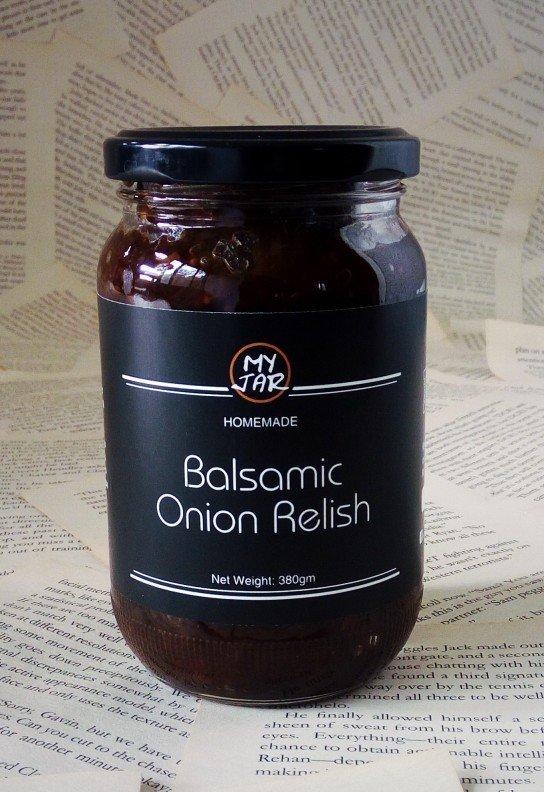 Balsamic Onion Relish مخلل بصل بلسمى