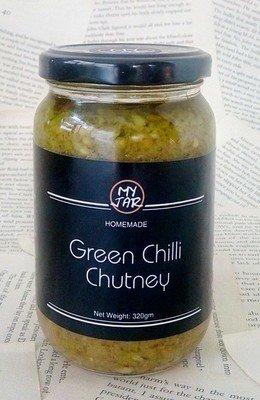 Green Chili Chutney صلصة الفلفل الأخضر الحار