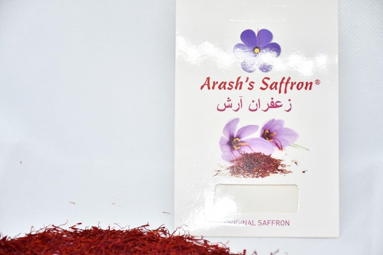 ペルシャサフラン(Arash's Saffron)オリジナルサフラン100%自然 (1g)