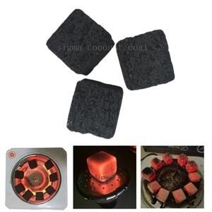 100% coconut charcoal cubes for shisha hookah coal sigma72 pcsシーシャ炭 coal Coconut Charcoal 1kg /ナチュラルココナッツチャコール 1kg 水タバコ/shisha