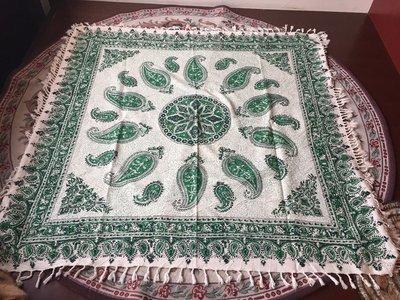 ペルシャ絨毯風の布、更紗120cm×120cm テーブルクロス ソファーカバーPersian carpet table cloth sofa cover