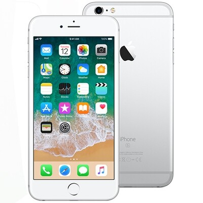 iPhone 6s Silver/hvid 16 GB