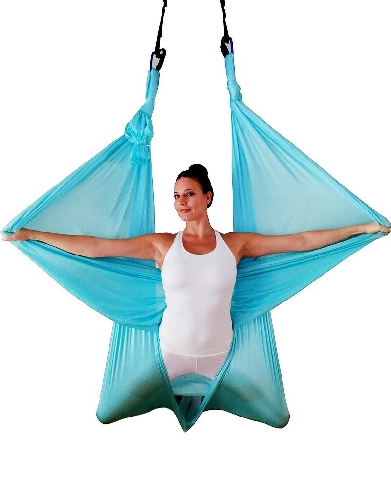 Komplet za vežbanje Aerial joga / fitness