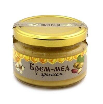 Крем-мёд с арахисом 250 г