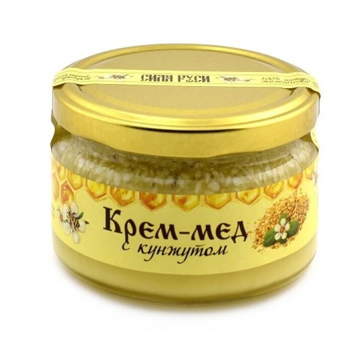 Крем-мёд с кунжутом 250 г