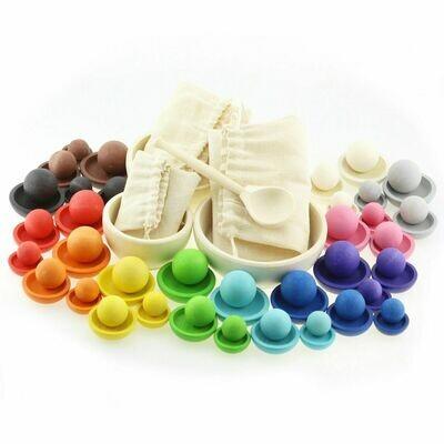 Игра цвета и размеры