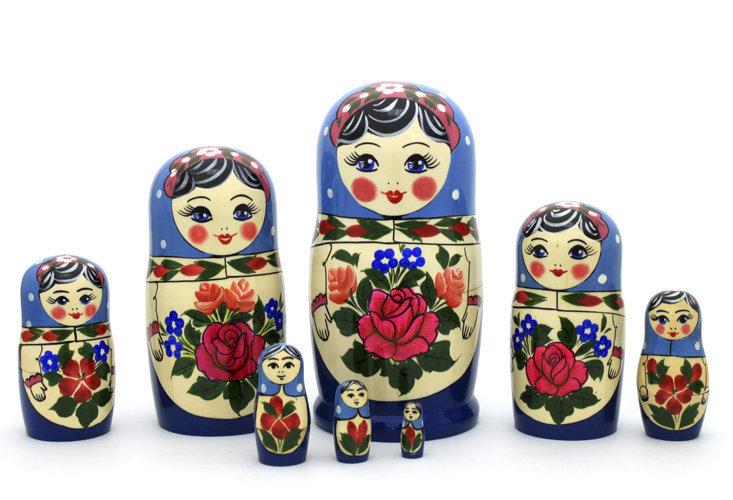 Матрёшка Семеновская «Аленка» (8 кукол)