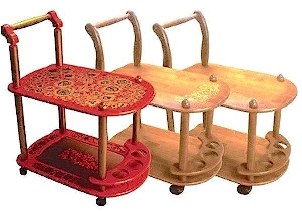 Стол сервировочный с художественной росписью «Гранд»