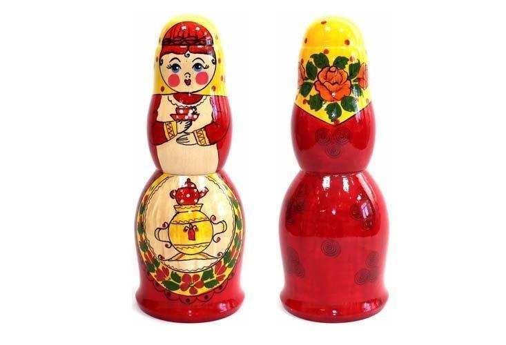 Матрешка сувенирная «Чаевница»