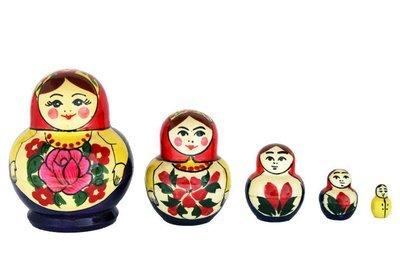 Матрёшка Семеновская «Катюша» 7 кукол (опт)