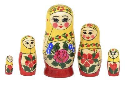 Матрёшка Семеновская «Настя» 5 кукол (опт)