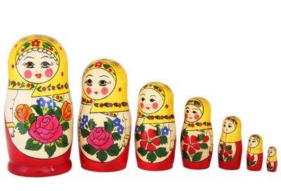 Матрёшка Семеновская «Настя» (7 кукол) (опт)
