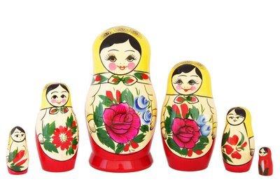 Матрёшка Семеновская «Россияночка» 6 кукол (опт)