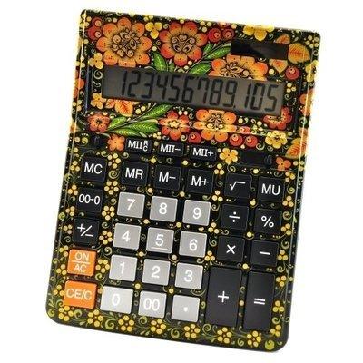 Калькулятор Хохлома, Вернисаж Z013-07, настольный, Citizen