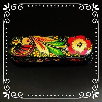 Флешка Хохлома, Вернисаж F015-07, объем 8Гб, Transcend