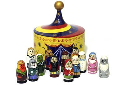 Счетный материал «Карнавал» (13 предметов)