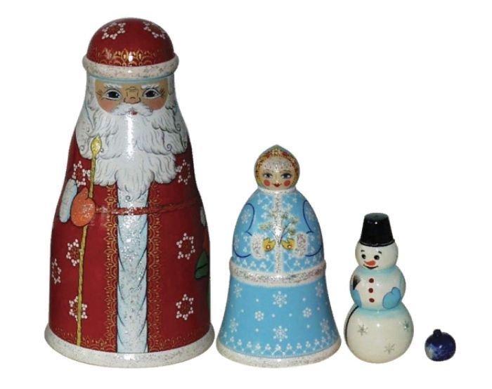 Игрушка «Дед Мороз» (4 предмета)