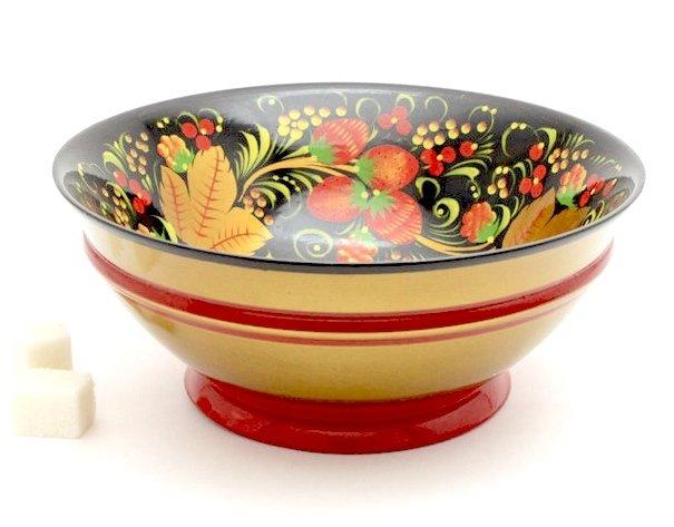 Чашка с хохломской росписью 70х170