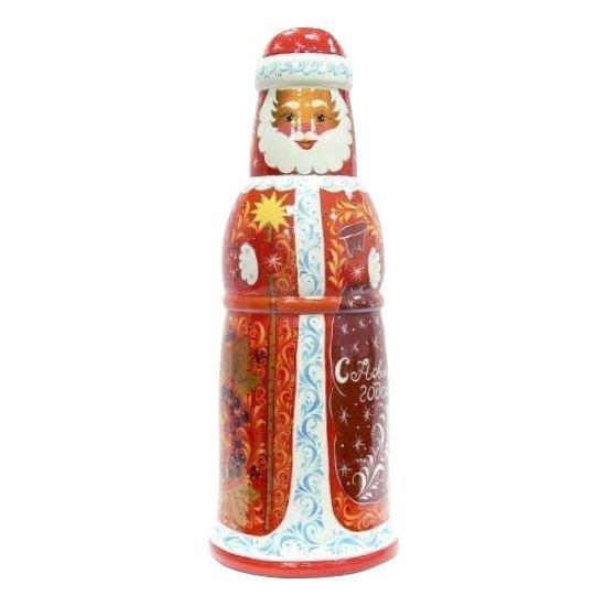 Футляр «Дед мороз» с хохломской росписью