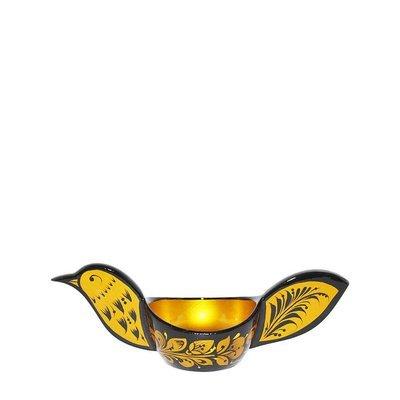 Ковш 70(80)х70х180 с хохломской росписью