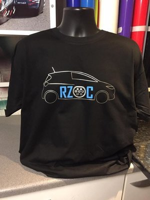 RZOC Club Logo T-Shirt (Black or White)