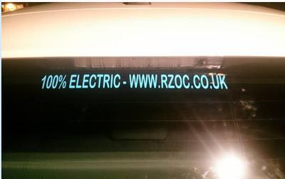 Club Website & 100% Electric