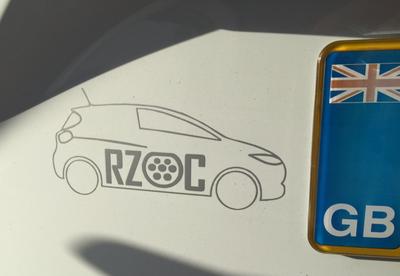 RZOC Car Logo Silver
