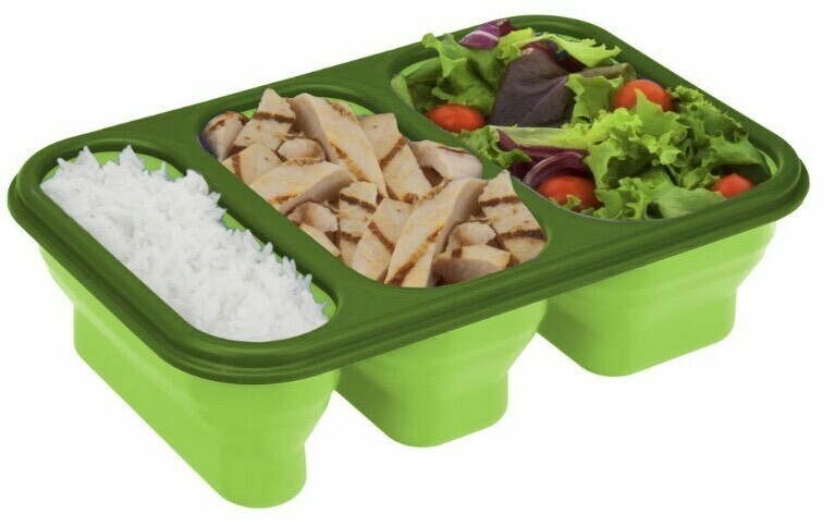 Meal On The Go Portion Perfect Food Storage