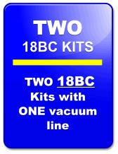 Seat Insert Kit 18BC-2:  TWO KITS Ideal For Quarter Midgets & Jr. Dragsters
