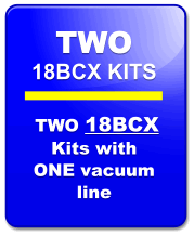 Seat Insert Kit 18BCX-2:  TWO KITS Ideal For Vehicles Req. Minimal Insert Material