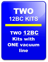 Seat Insert Kit 12BC-2:  TWO KITS Used in Go Karts