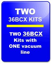 Seat Insert Kit 36BCX-2:  TWO KITS Super Comp, Open Wheel