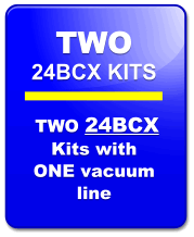 Seat Insert Kit 24BCX-2:  TWO KITS Used in Dragsters, Sprint Cars