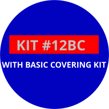 Seat Insert Kit 12BC:  Used in Go Karts