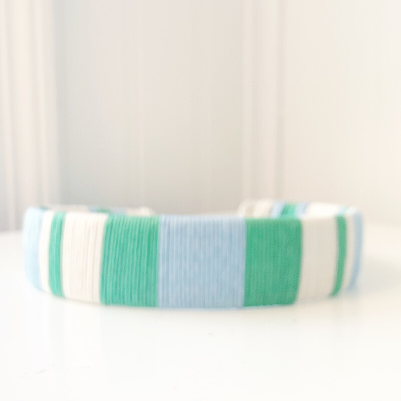 Green & Sky Blue Headband