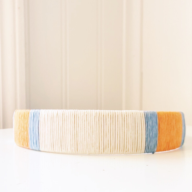 Orange & Sky Blue Headband