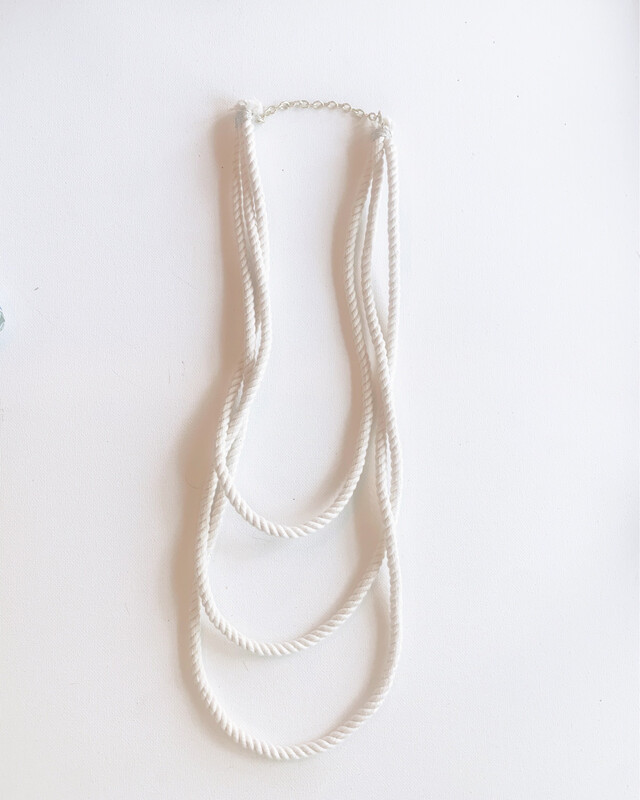 3 Layer Rope Necklace