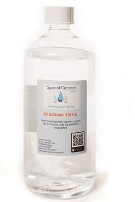 1,0 Liter Silikonöl 350 cSt / Gummipflege; Gleitmittel - Latex ; Pouring  (15,00 € / Liter )  Kostenloser Inlandsversand!!!