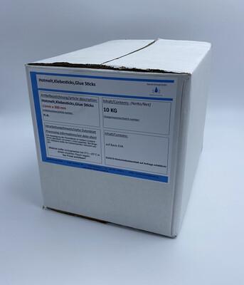 10,00 Kg Hotmelt, Heisskleber, Klebesticks,Glue Sticks 11mm x 300mm (5,00 € / kg)Kostenloser Inlandsversand!!!
