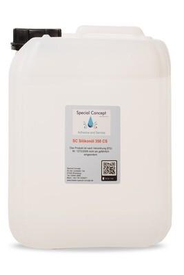 10,00 Liter Silikonöl 350 cSt / Gummipflege; Gleitmittel - Latex ; Pouring  (7,50 € / Liter )  Kostenloser Inlandsversand!!!